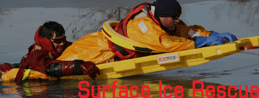 Surface Ice Rescue Training