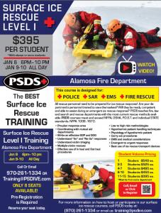Ice Rescue - Alamosa Colorado