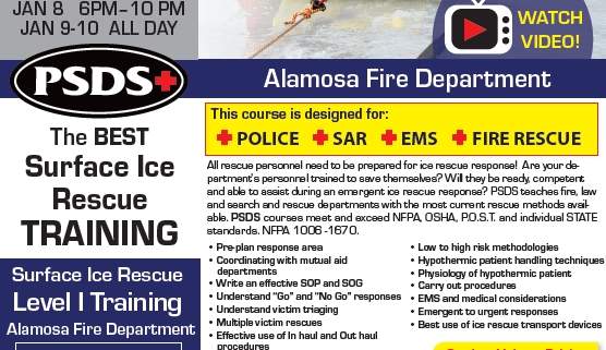 Ice Rescue - Alamosa Colorado